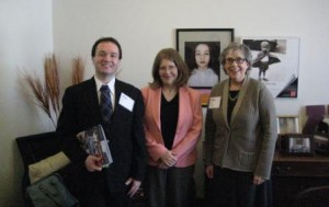 Representative Liebling with Irvin and Hutton 2